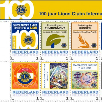 100jr Lions Postzegelactie